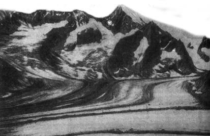 Самые большие площади горное оледенение занимает